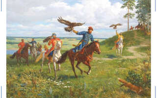 Как развивалась соколиная охота на Руси