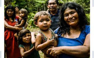 Самые удивительные племена на планете Земля