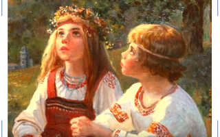 Печальная история любви Костромы и Купалы
