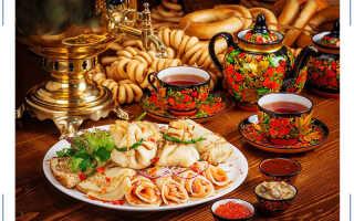 Пища богов: особенности русской национальной кухни