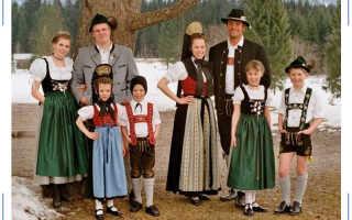 Удивительная особенность национального костюма немцев