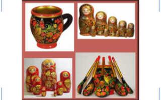 Основные виды русской росписи