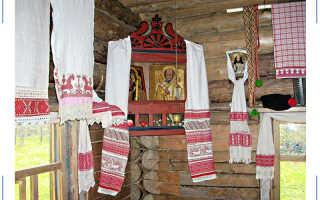Домашний иконостас: «красный угол»
