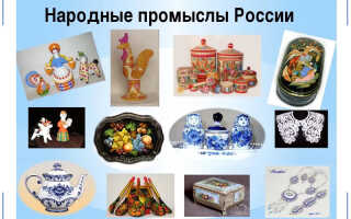 Неотъемлемая часть русской культуры или всё, что нужно знать о народных промыслах