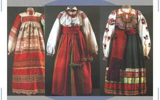 Красота покоя: история женского русского народного костюма