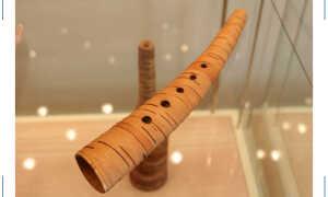 Удивительный музыкальный инструмент рожок