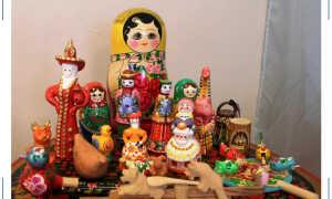 Кто они такие, русские народные игрушки? Давайте познакомимся!