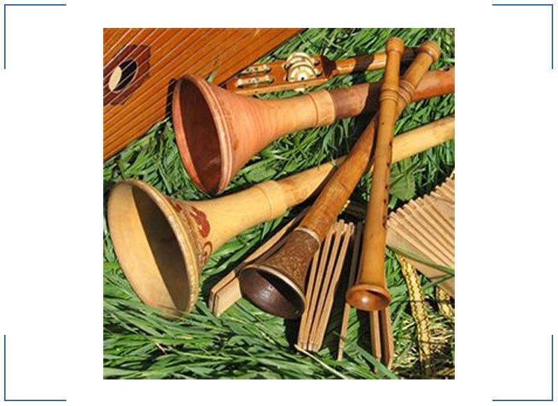 Картинка музыкального инструмента рожка