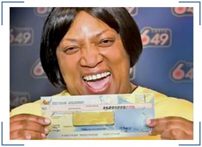 люди, которые выиграли в лотерею